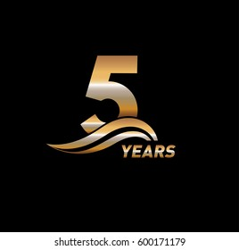 5 Years Anniversary Celebration Design