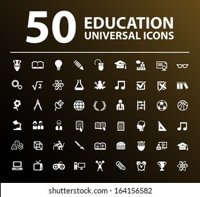50 Education Icons.