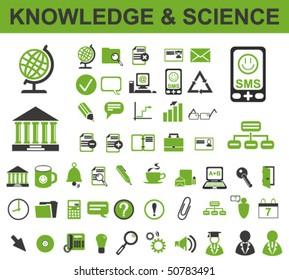 50 Knowledge Icons