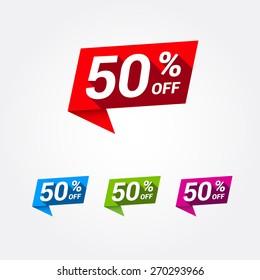 50% Off Labels
