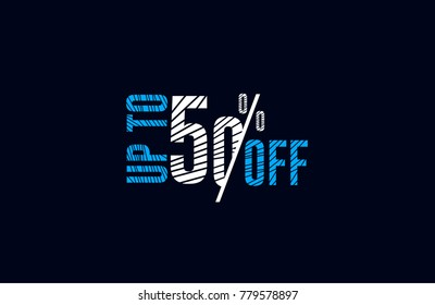 Up To 50% Off lined text