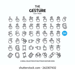 50 Vector line icons set for web design and user interface in applications made in flat graphic style. Nice detail and easily identifiable. Ideal for clean design.