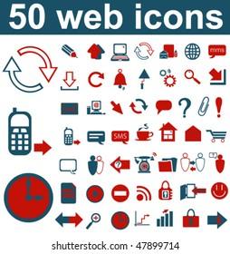 50 Web Icons