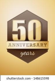 50 years anniversary card