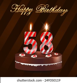58 Birthday Images, Stock Photos & Vectors | Shutterstock
