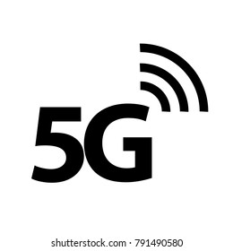5G icon, Vector illustration