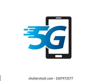 5G logo symbol or icon template