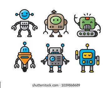Robot Clipart Images Stock Photos Vectors Shutterstock
