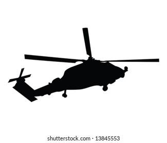 Seahawk Helicopter Stock Vectors, Images & Vector Art   Shutterstock