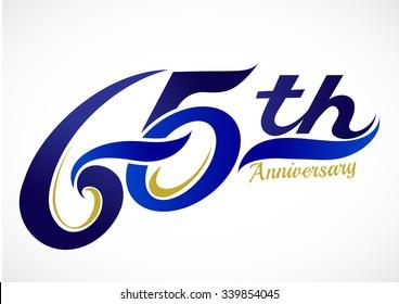 65th Anniversary Celebration Design