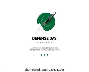 6th September. Happy Defense Day Pakistan.