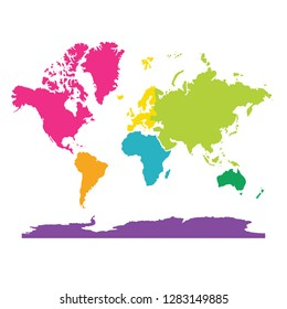 7 Continents Images Stock Photos Vectors Shutterstock