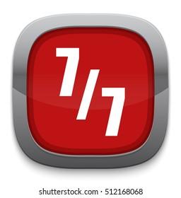 7 days a week button