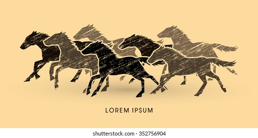 Seven Horses Images Stock Photos Vectors Shutterstock