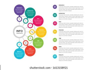 7 modern infographics elements vector editable