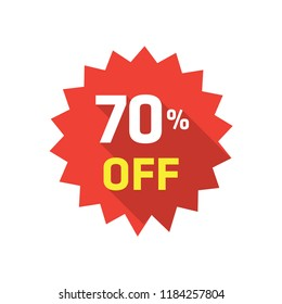 70% LABEL DISCOUNT