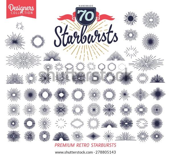 70 premium starburst. Designers Collection
