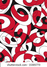 70s retro seamless pattern  abstract (vector)