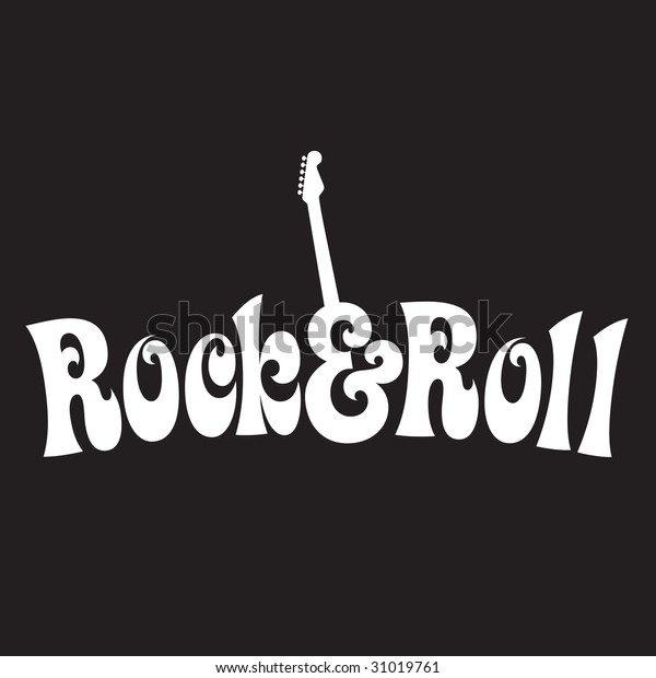 70s style Rock & Roll Design