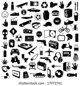 72 image for design (vector)