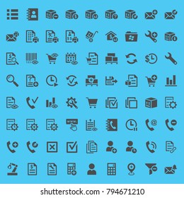 72 symbols related to ERP (Enterprise Resource Planning)