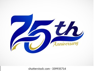 75th Anniversary Celebration Design
