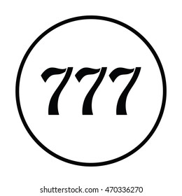 Similar images stock photos vectors of lucky number - Lucky number 7 wallpaper ...