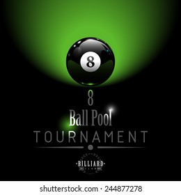 8 Ball Pool Tournament background