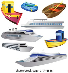 8 different boat types