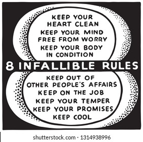 8 Infallible Rules