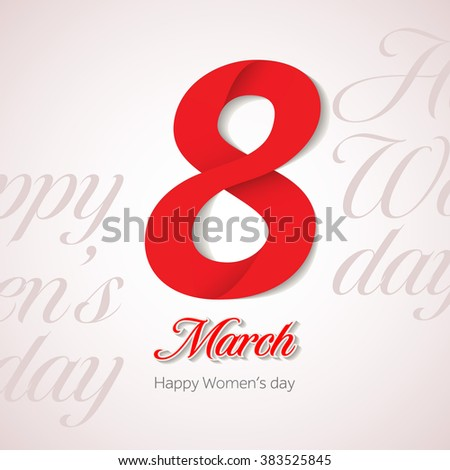 8 march womens day greeting card stock vector royalty free 8 march womens day greeting card design template march 8 invitation card background template m4hsunfo