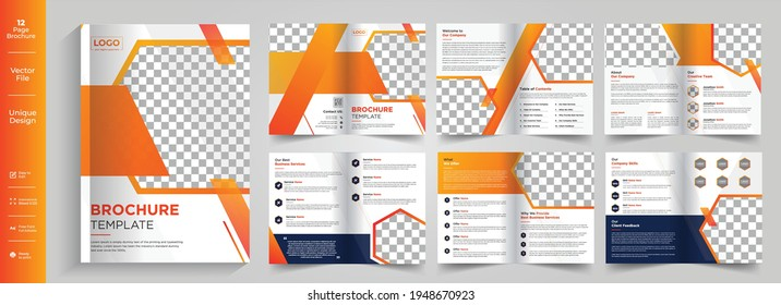 8 Page Brochure,Brochure,Brochure layout,Newsletter design,8 Page Brochure Design, Color Brochure Design Templates,8 Page Corporate Bifold Brochure, Corporate brochure template, company profile brochu