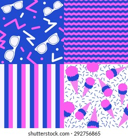 80's Summer Patterns