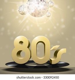 80's vinyl