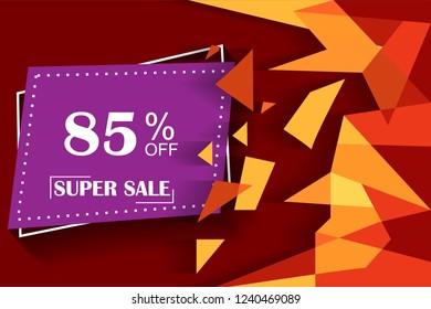 85% off discount promotion sale,  sale promo marketing