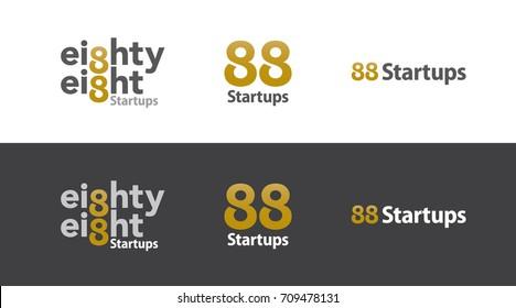 88 investment start-up logo