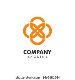 88 Logo Design. Icon Character