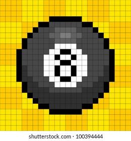 8-Bit Pixel 8-Ball