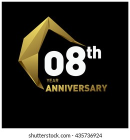8th anniversary images stock photos vectors shutterstock