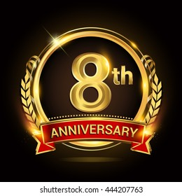 8th Wedding Anniversary.8th Anniversary Images Stock Photos Vectors Shutterstock