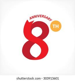 8th year anniversary