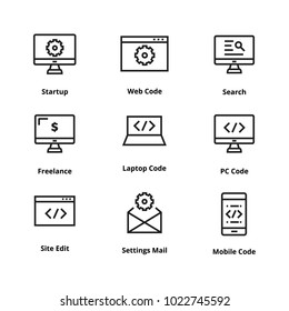 puter code on laptop screen diagram