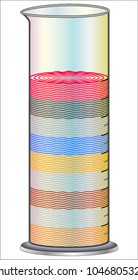 9 Layer Density Tower