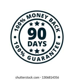 90 Days Money Guarantee Back illustration
