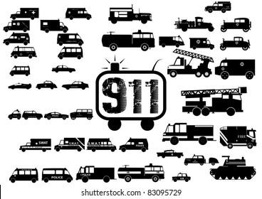 911 silhouette