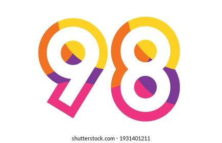 98 Colorful Fun Modern Flat Number