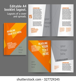 2 Page Brochure >> 2 Page Spread Images Stock Photos Vectors Shutterstock
