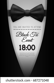Gala invitation stock vectors images vector art shutterstock a4 elegant black tie event invitation template eps10 vector stopboris Images
