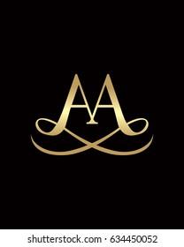 AA Elegant Logo