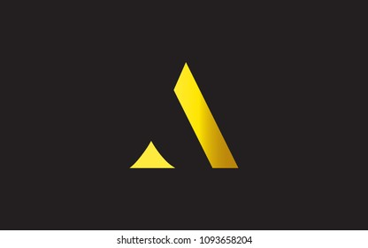 A AA Letter Initial Logo Design Template